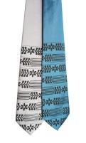 'Severance Hall (Lotus Grate, F)' Neckties