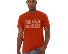 Never Bored Brick Shirt Mockup